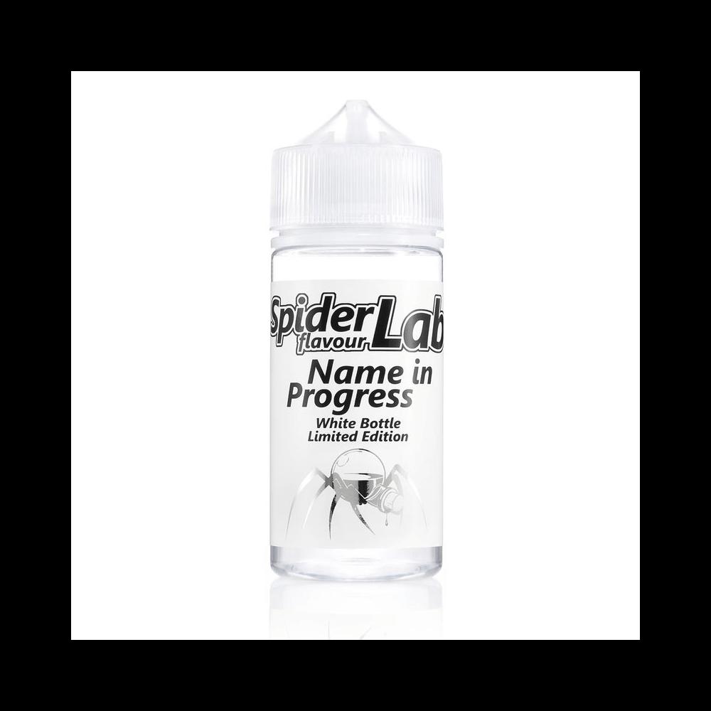SpiderLab White Bottle - Name in Progress - Aroma (10 ml)