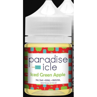 Syndicate Paradise-icle: Iced Green Apple (50ml)