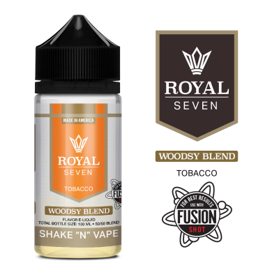 Syndicate Royal Seven: Woodsy Blend (50ml)