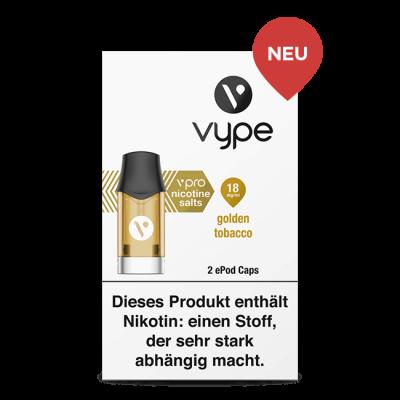 Vype ePod Caps Golden Tobacco
