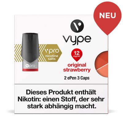Vype ePen3 Caps Original Strawberry