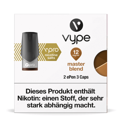 Vype ePen3 Caps Master Blend