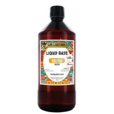 Los Liquidos Base 50 / 50 1 Liter