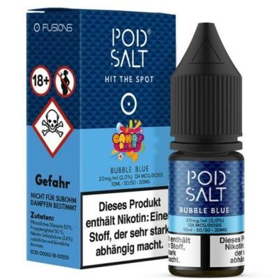 Pod Salt - Bubble Blue (Candy Rush) - Nikotinsalz E-Liquid (10 ml)