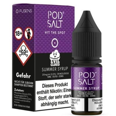 Pod Salt - Summer Syrup (Evil Cloud) - Nikotinsalz E-Liquid (10 ml)