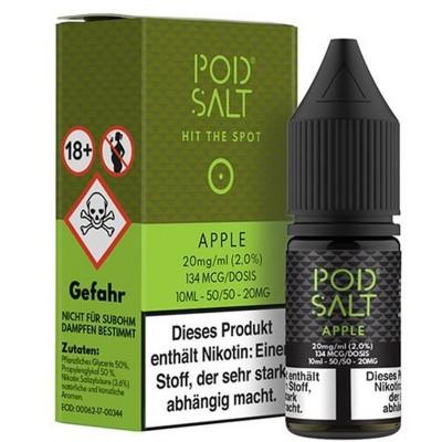 Pod Salt - Apple - Nikotinsalz E-Liquid (10 ml)