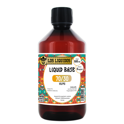 Los Liquidos Base 70 / 30 500 ml