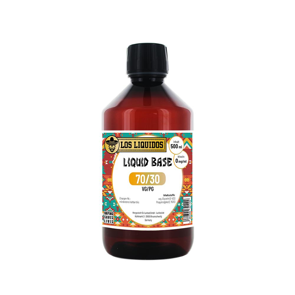 Los Liquidos Base 70 / 30 500 ml