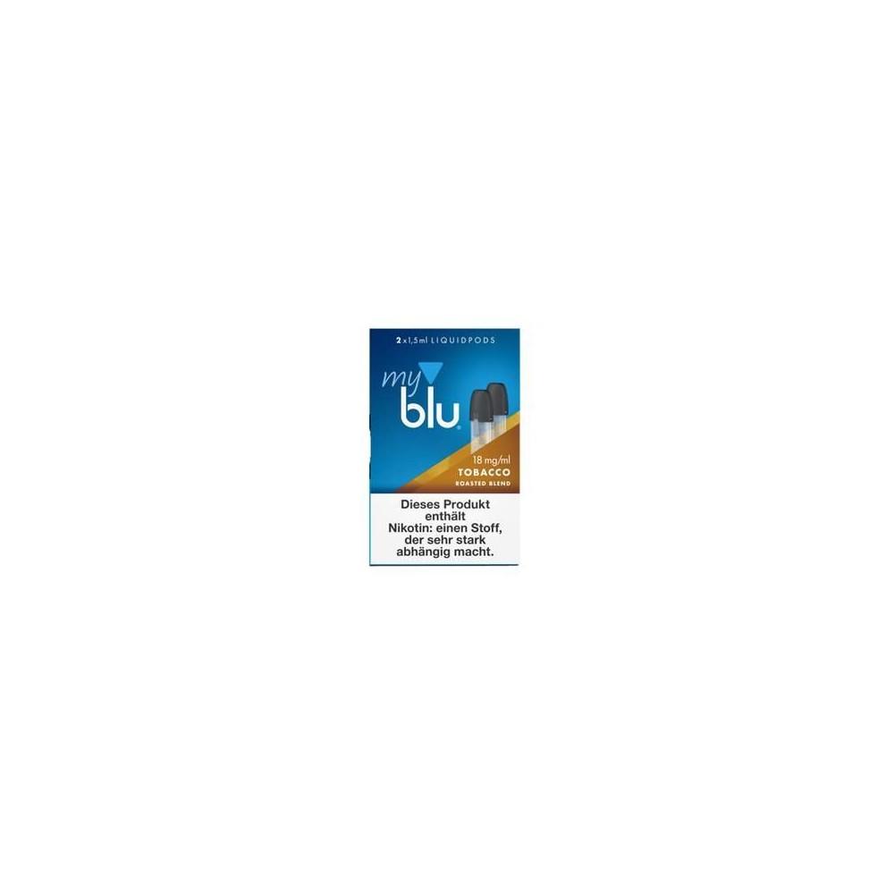 MyBlu Liquidpod Tobacco Roasted Blend (2er-Pack)