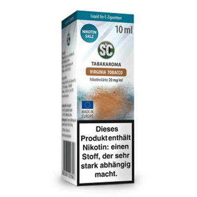 SC – Virginia Tobacco Nikotinsalz Liquid 20 mg/ml (10 ml)