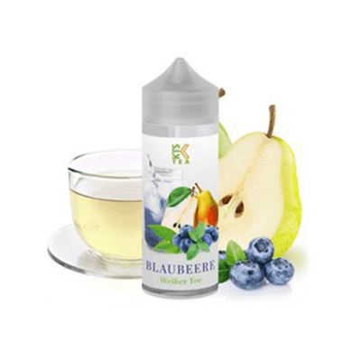 Weißer Tee Blaubeere – KTS Tea Line 30 ml (inkl. 120 ml Leerflasche)