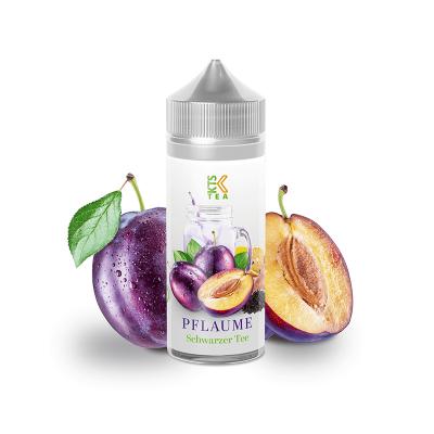 Schwarzer Tee Pflaume – KTS Tea Line 30 ml (inkl. 120 ml Leerflasche)