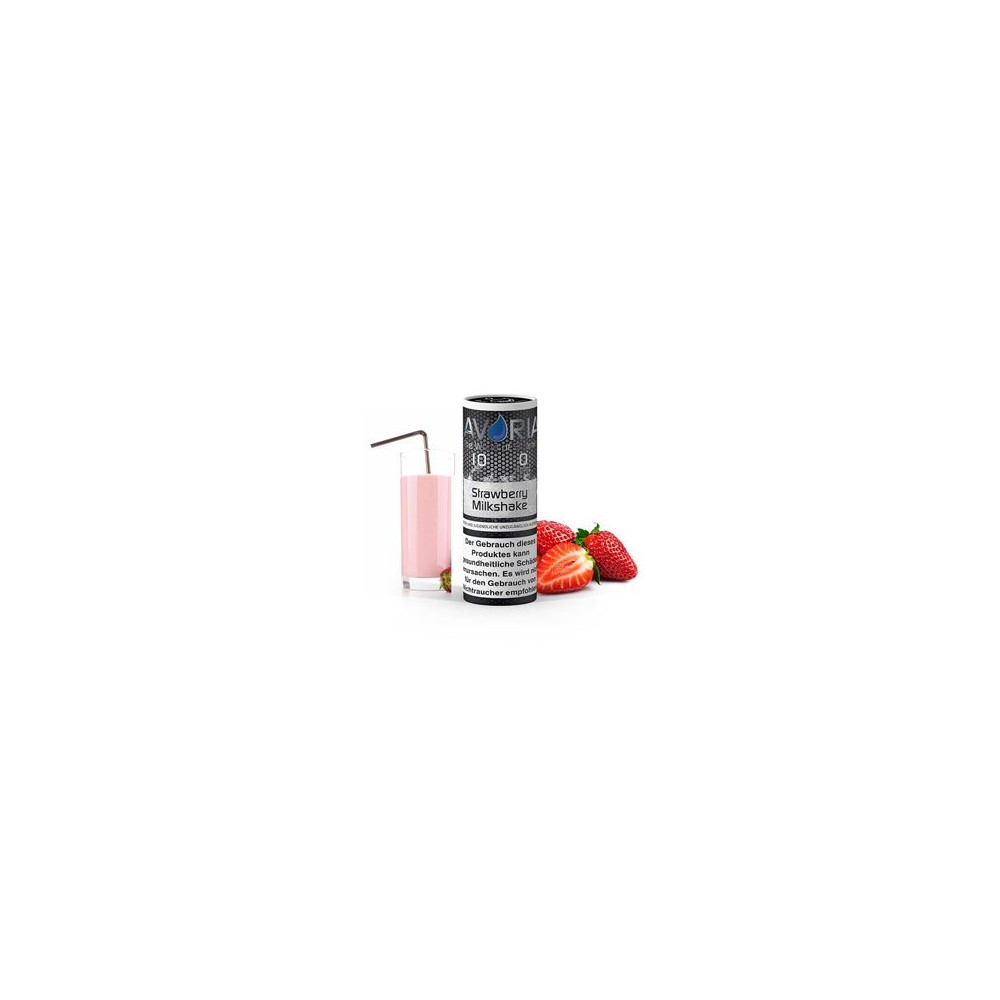 Avoria Liquid Strawberry Milkshake (10 ml)