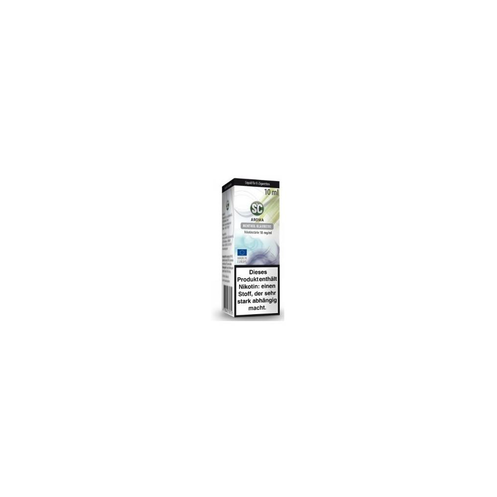 SC Liquid Menthol-Blaubeere