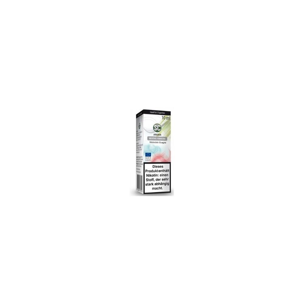 SC Liquid Menthol-Himbeere