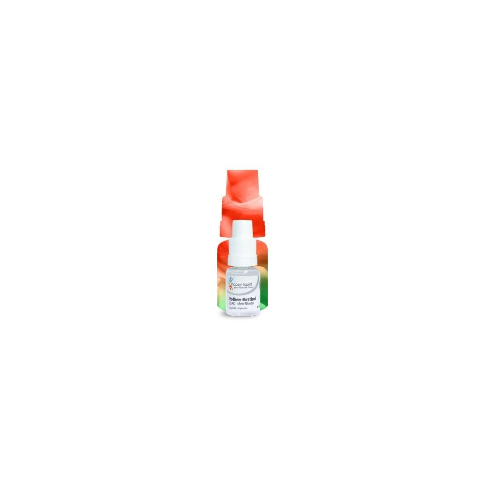 Erdbeer Menthol Happy Liquid
