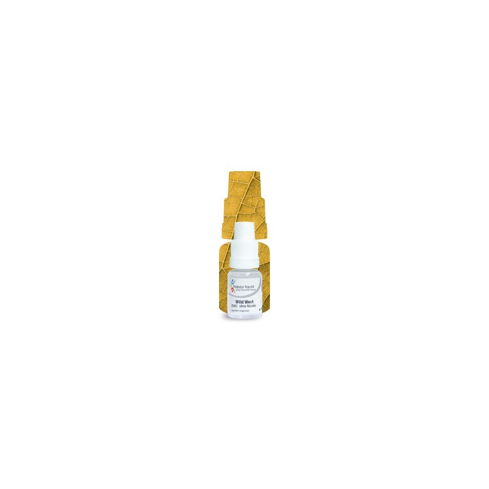 Wild West Tabak Happy Liquid für E-Zigaretten Online bestellen   iSmoker® ➤ Top E-Liquids günstig ✓ Blitzversand ✓ Support ☎