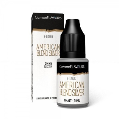 American Blend Silver Liquid GermanFlavours