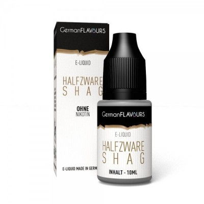 German Flavours Halfzware Shag Liquid (Drehtabak)