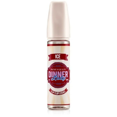 Dinner Lady Flip Flop Lychee Ice Shortfill Liquid (50 ml)