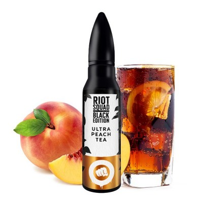 Riot Squad - Black Edition - Ultra Peach Tea Longfill