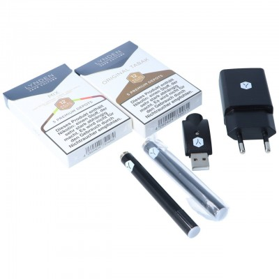LYNDEN Premium E-Zigaretten Set Lieferumfang