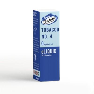 Erste Sahne E-Liquid - Tobacco No. 4 (10 ml)