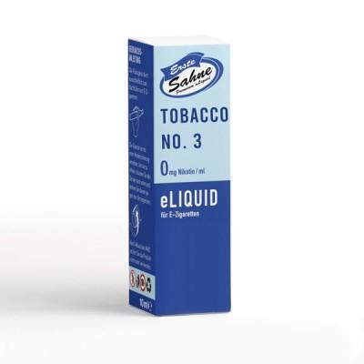 Erste Sahne E-Liquid - Tobacco No. 3 (10 ml)