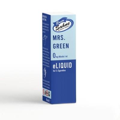 Erste Sahne E-Liquid - Mrs. Green (10 ml)