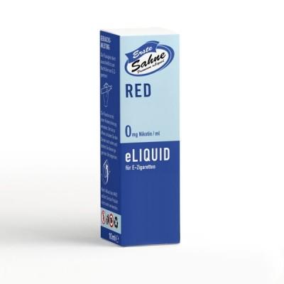 Erste Sahne E-Liquid - Red (10 ml)