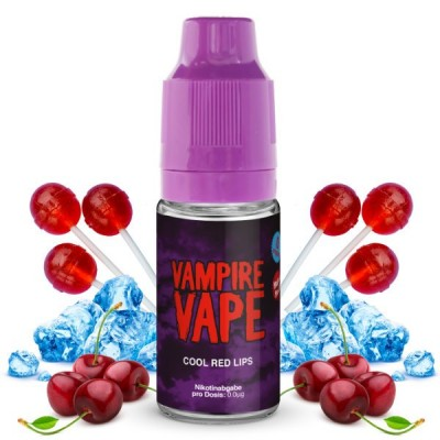 Vampire Vape Liquid Cool Red Lips