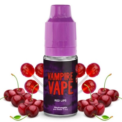 Vampire Vape Liquid Red Lips