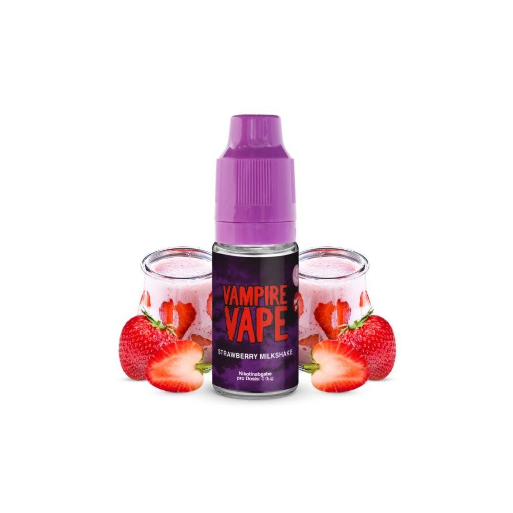 Vampire Vape Liquid Strawberry Milkshake