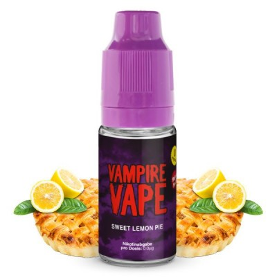 Vampire Vape Liquid Sweet Lemon Pie