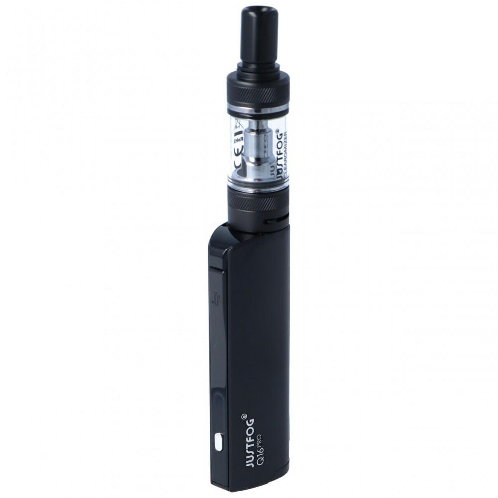 JustFog Q16 Pro E-Zigaretten Starter Kit Schwarz