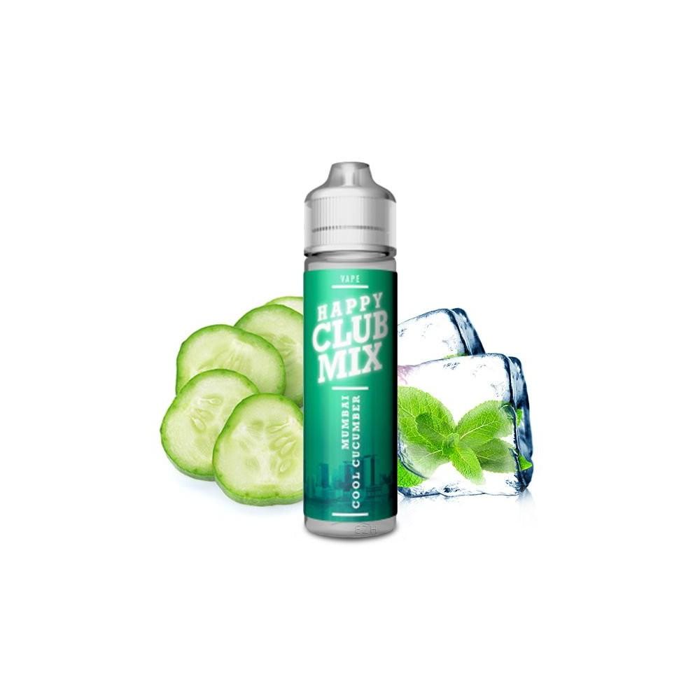 Happy Club Mix - Mumbai Cool Cucumber Longfill Aroma (10 ml)