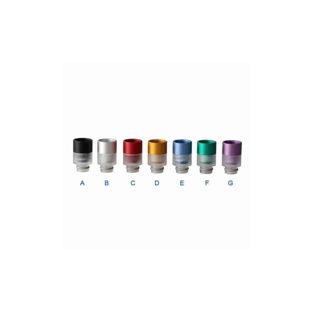 510 Aluminium Transparent Acrylic Drip Tip 2