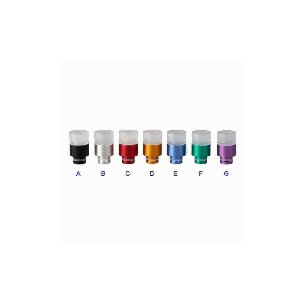 510 Aluminium Transparent Acrylic Drip Tip 4