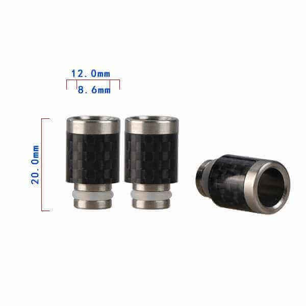 510 Carbon Fiber Hybrid Drip Tip 12mm