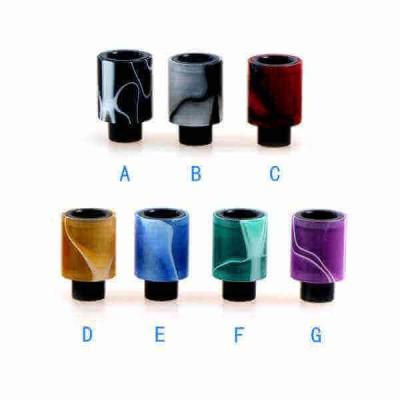 510 Column Acrylic Delrin Drip Tip