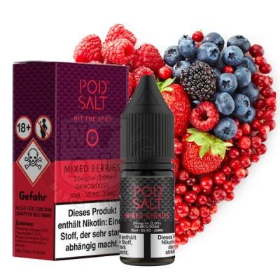 Pod Salt - Mixed Berries - Nikotinsalz E-Liquid (10 ml)