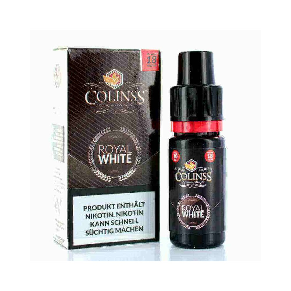 Colinss E-Liquid Royal White Tobacco (PG) (milder Tabak)