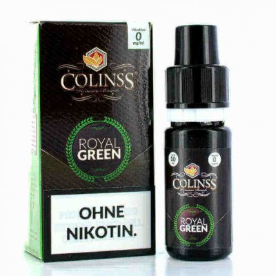 Colinss E-Liquid Royal Green Tobacco (PG) (Orienttabak mit Menthol)