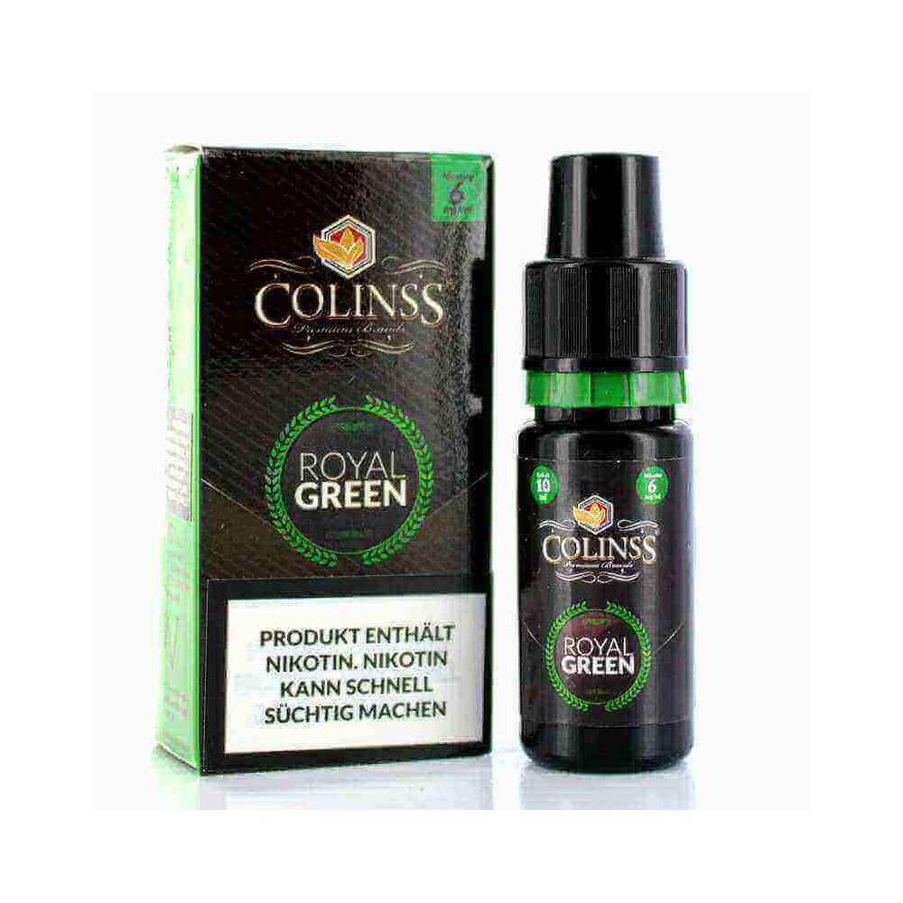 Colinss E-Liquid Royal Green Tobacco (PG) (Orienttabak mit