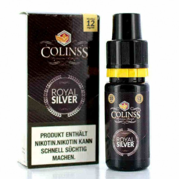 Colinss E-Liquid Royal Silver Tobacco (PG) (Virginiatabak)