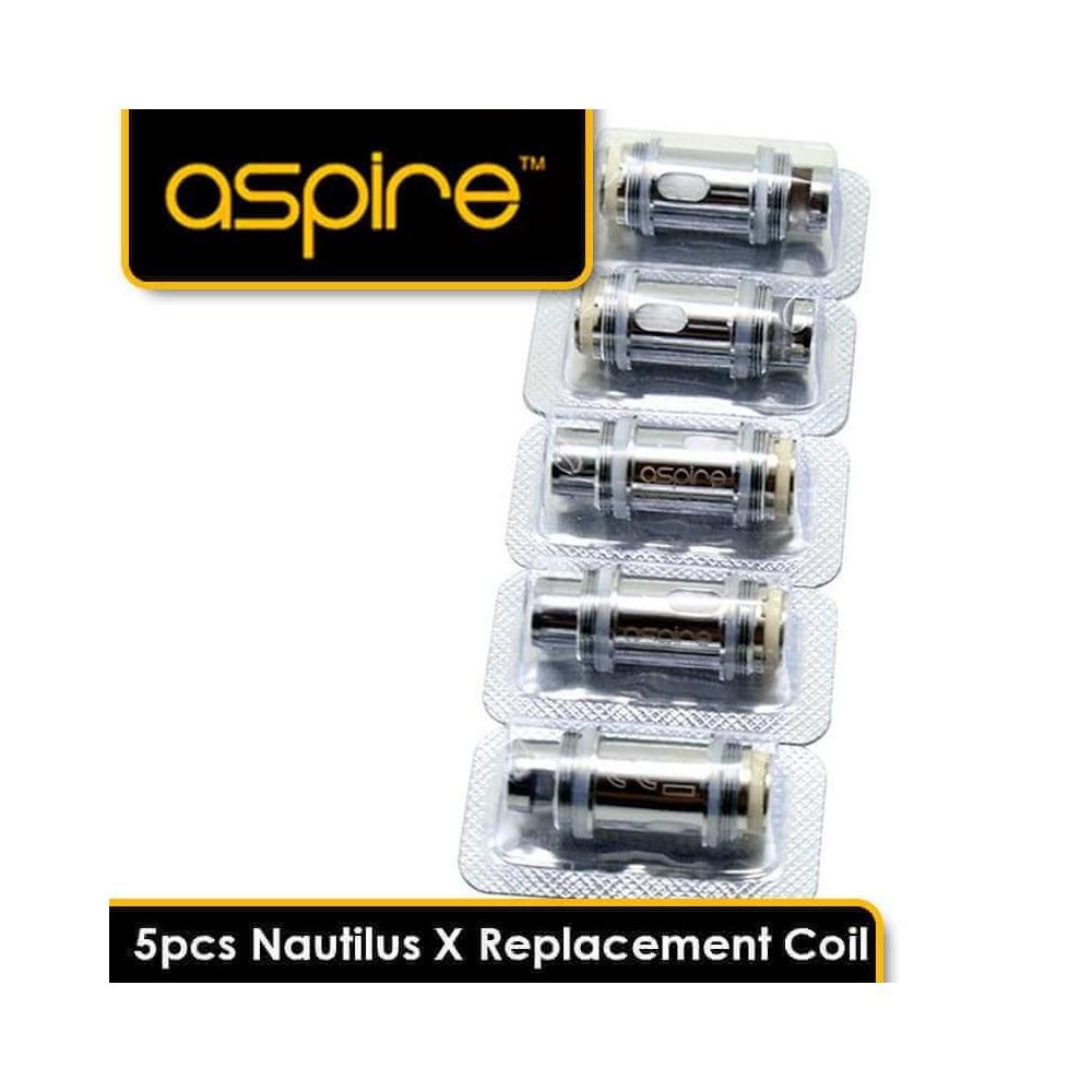 Aspire Nautilus X Ersatzverdampferkopf (5er-Pack)