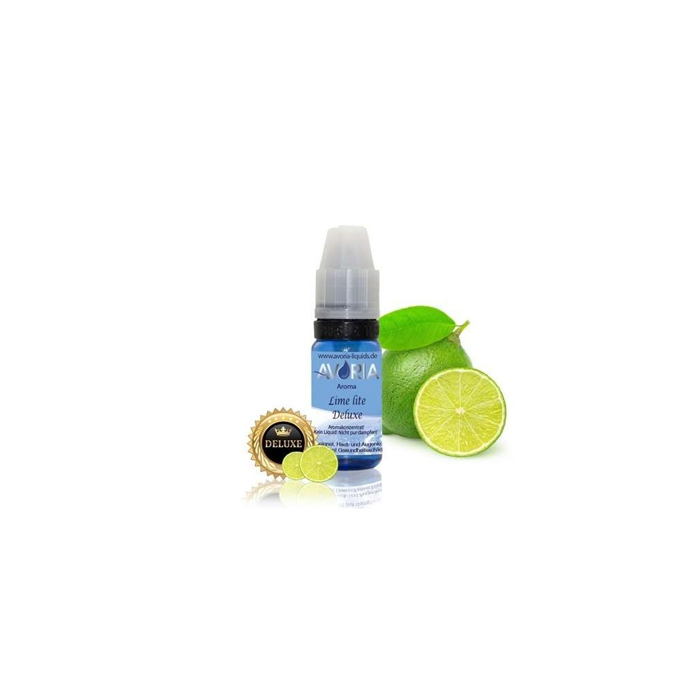 Avoria Aroma Lime lite Deluxe (12 ml) (Limette mit Mentholnote)