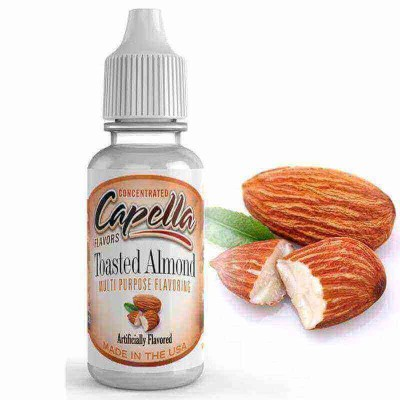 Capella Aroma Toasted Almond (13 ml) (geröstete Mandeln)