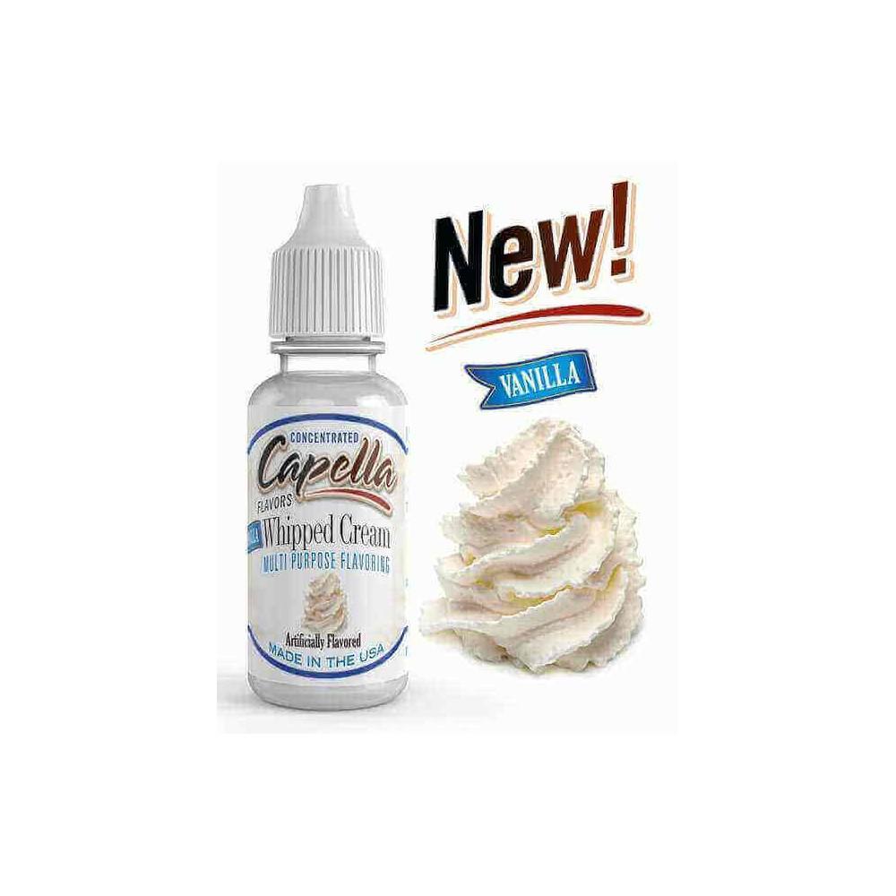 Capella Aroma Vanilla Whipped Cream (13 ml) (Vanillecreme)