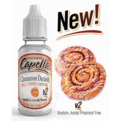 Capella Aroma Cinnamon Danish Swirl V2 (13 ml) (Zimtschnecke)